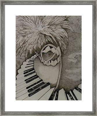 Stairway Il Framed Print by Jacquelyn Roberts