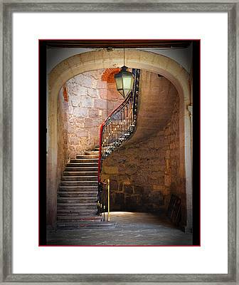 Stairway Of Light Framed Print