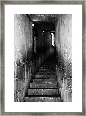 Stairway  Framed Print by Steven  Taylor