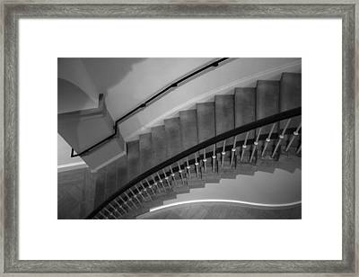 Stairway Study I Framed Print by Steven Ainsworth