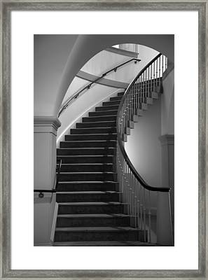 Stairway Study II Framed Print by Steven Ainsworth