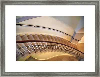 Stairway Study IIi Framed Print by Steven Ainsworth