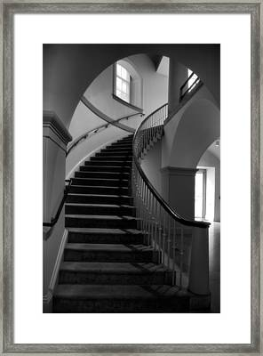Stairway Study V Framed Print by Steven Ainsworth