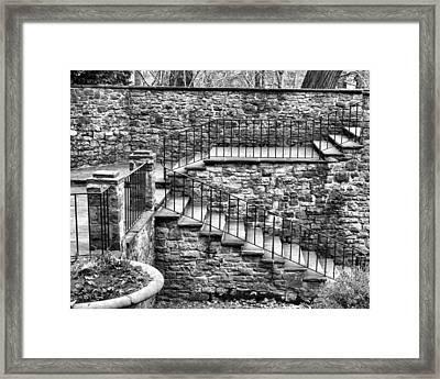 Stairway Framed Print by Tim Buisman