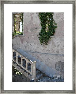 Stairway To Alcatraz Framed Print by Mark Etchason