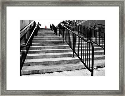 Stairway To Freedom Framed Print