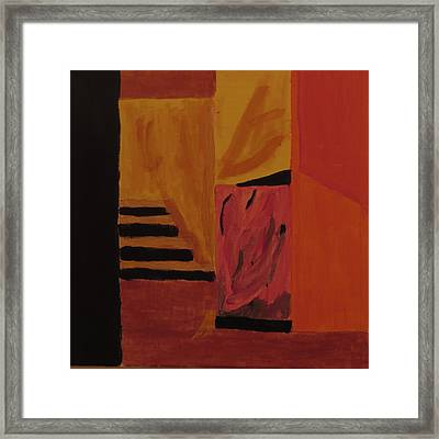 Stairway To Grace Framed Print