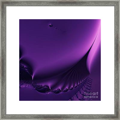 Stairway To Heaven . Square . S18 Framed Print