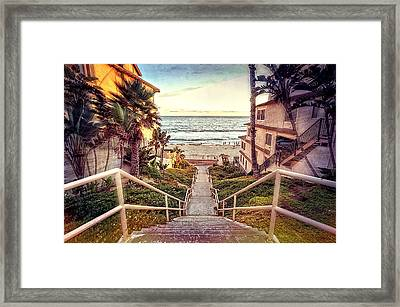 Stairway To Heaven Framed Print by Ann Patterson