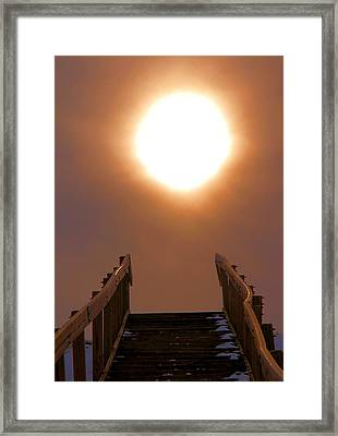Stairway To Heaven Framed Print by Dan Sproul