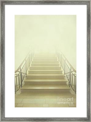 Stairway To Heaven Framed Print by Evelina Kremsdorf