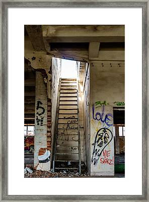 Stairway To Heaven? I Don't Think So... Framed Print