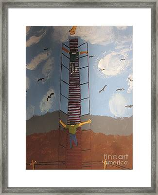 Stairway To Heaven Framed Print by Jeffrey Koss