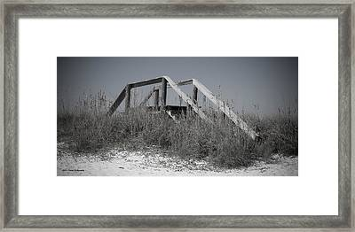 Stairway To Heaven Pano Framed Print by Debra Forand