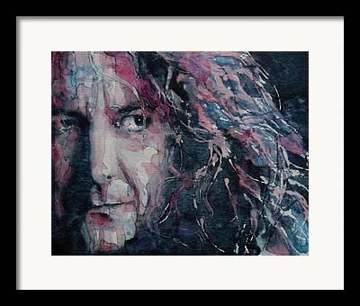 Led Zeppelin Art Framed Prints
