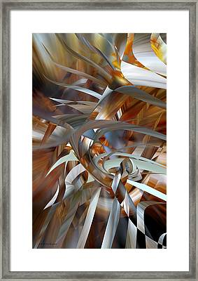 Framed Print featuring the digital art Stairway To Heaven by rd Erickson