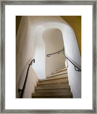 Stairway To Heaven Framed Print by William Beuther
