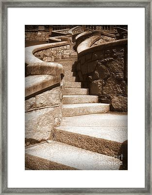 Stairway To Framed Print
