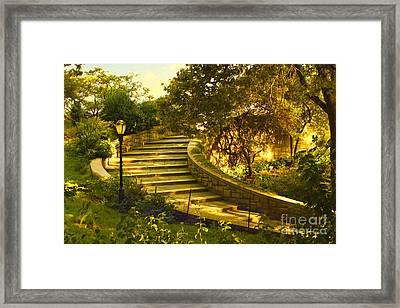 Stairway To Nirvana Framed Print