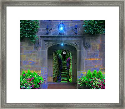 Stairway To Paradise  Framed Print by Michael Rucker