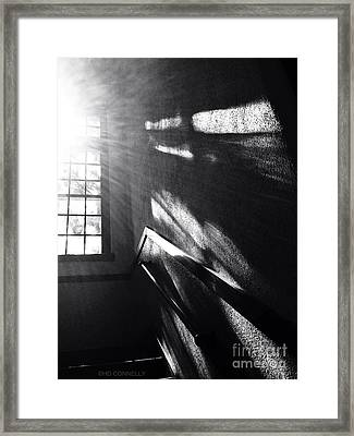 Stairwell #1 Framed Print by HD Connelly