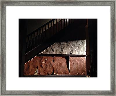 Stairwell Framed Print by H James Hoff