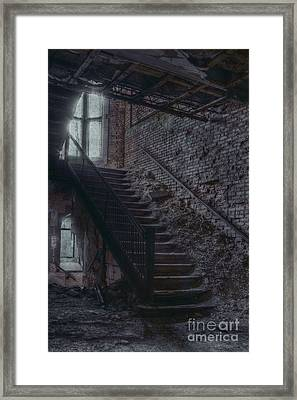 Stairwell Framed Print by Margie Hurwich