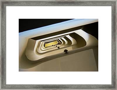 Stairwell Framed Print by Mark Williamson