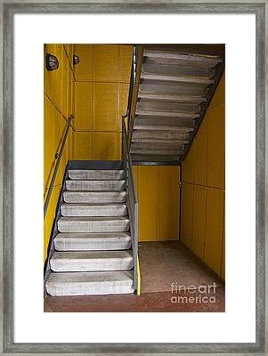 Stairwell Framed Print by Sean Griffin