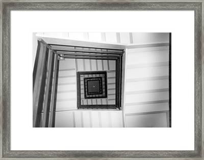 Stairwell Framed Print by Tarey Potter