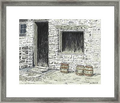 Stale Ale Framed Print by Dan Haley