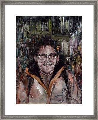 Framed Print featuring the painting Stalker by Mikhail Savchenko