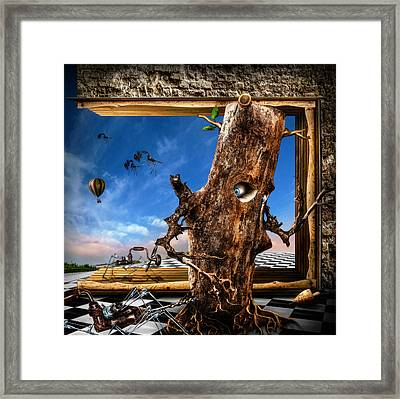 Stalkers Framed Print by Alessandro Della Pietra
