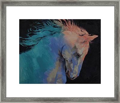 Stallion Framed Print