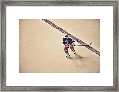 Stallzy Framed Print by Karol Livote