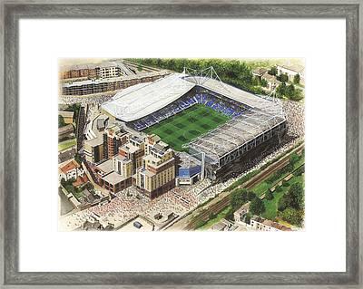 Stamford Bridge - Chelsea Framed Print by Kevin Fletcher