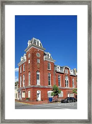 Stam's Hall Framed Print