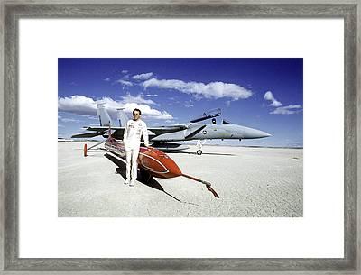 Stan Barrett Framed Print