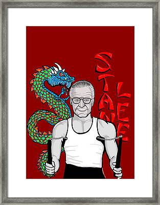 Stan Lee Framed Print by Gary Niles