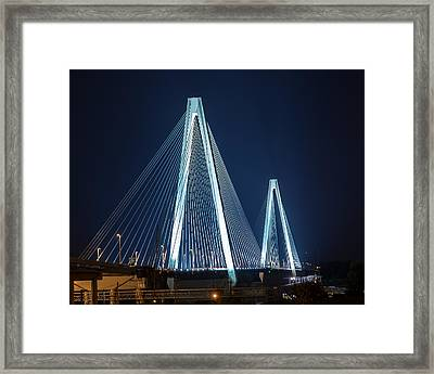 Stan Musial Veterans' Memorial Bridge Framed Print