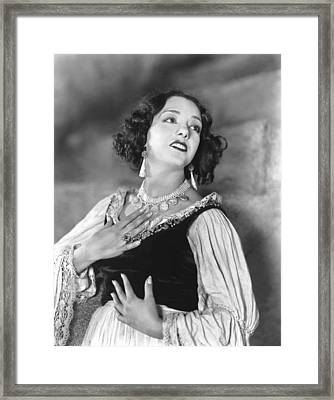 Stand And Deliver, Lupe Velez, 1928 Framed Print by Everett