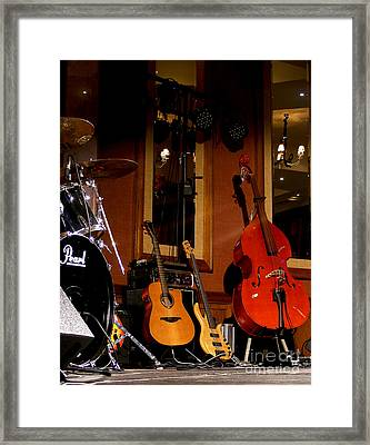 Stand By Framed Print