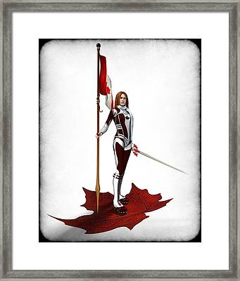 Stand On Gard Framed Print by Frederico Borges