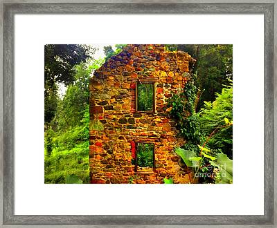 Stand With Pride Framed Print