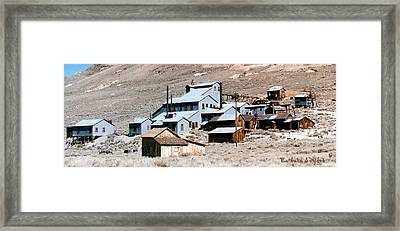 Standard Mill At Bodie Panorama Framed Print