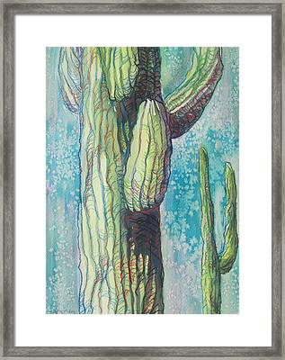 Standing By Framed Print by Sandy Tracey
