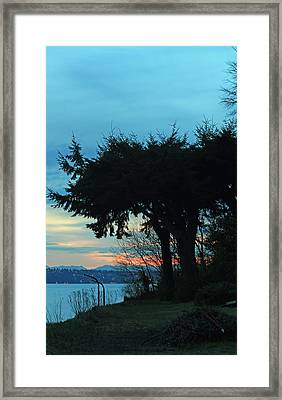 Standing Guard For Dawn Framed Print