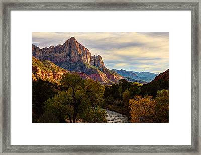 Standing Guard Framed Print by James Marvin Phelps
