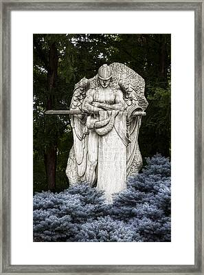Standing Guard Framed Print by Tom Mc Nemar