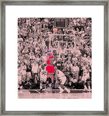 Framed Print featuring the photograph Standing Out From The Rest Of The Crowd by Brian Reaves